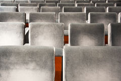 Grey  theatre Stock Images