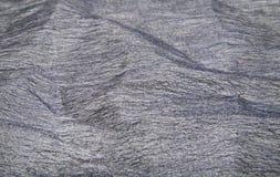 Grey thin fabric Stock Photography
