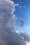 Grey thunderstorm cloud Royalty Free Stock Photo