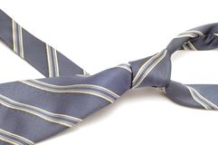 Grey tie Royalty Free Stock Images