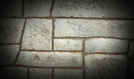 Grey tile brick background Royalty Free Stock Image