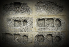 Grey tile brick bakground Royalty Free Stock Photos