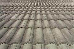 Grey tile slope Stock Photography