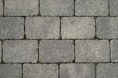 Grey tiles. Grey horizontal tiles outside taken from above Stock Photos