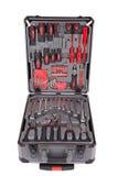 Grey toolbox Royalty Free Stock Photos