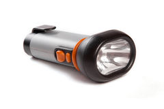Grey torch with orange buttons Royalty Free Stock Photography