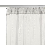 Grey translucent  curtain Royalty Free Stock Images