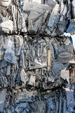 Grey trash Stock Image