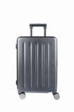 Grey travel luggage isolated Stock Image
