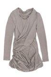 Grey trendy tunic Stock Images