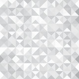 Grey Triangle abstract background. Geometric vector Royalty Free Stock Photography