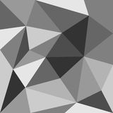 Grey triangle vector background or pattern. Grey triangle background or seamless pattern. Flat black and grey surface wrapping geometric mosaic for wallpaper or Stock Photography
