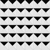 Grey triangle pattern Stock Images
