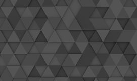 Grey triangle tiles texture, seamless pattern background. 3d ill. Ustration royalty free illustration