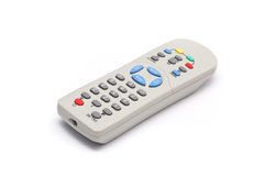 Grey TV Remote Stock Photography
