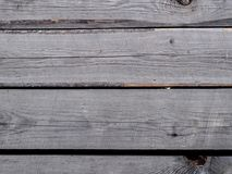 Grey unplaned boards. Stock Images