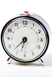 Grey Vintage Clock Stock Photography