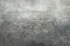 Grey Vintage Wall Background Photographie stock
