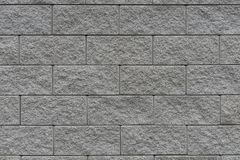 Grey wall with clinker bricks Royalty Free Stock Photography