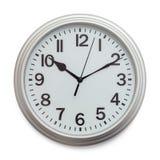 Grey Wall Clock foto de stock