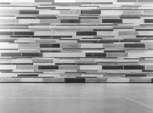 Grey wall and floor interior Royalty Free Stock Photography