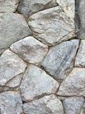 Grey Wall Fragment von abgebrochenem Stein Stockfotografie