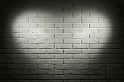 Grey wall with heart shape light effect and shadow, abstract background photo Stock Images