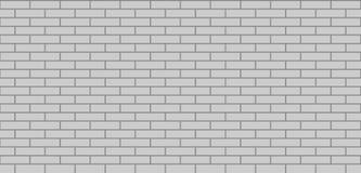 Brick wall grey seamless texture. Masonry background royalty free illustration