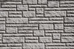Grey wall texture with rectangulars stock photography