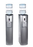 Grey water cooler Royalty Free Stock Image
