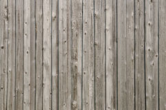 Grey weathered wooden boards Stock Photos