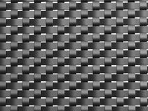 Grey weave pattern front. A front view of a grey weave pattern Royalty Free Stock Photos