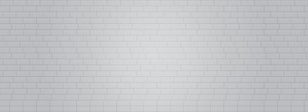 Grey White brick wall vector background vector eps10. Grey Brick wall wallpaper illustration. royalty free illustration