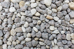 Grey and white crushed granite rock Royalty Free Stock Photography