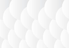 Grey and White 3D circles background Royalty Free Stock Photos