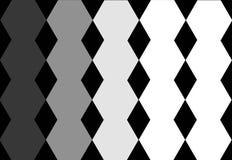 Grey White Geometric Design preto sextavado no fundo preto Textura abstrata Pode ser usado para o projeto da tampa, projeto do li ilustração stock