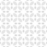 Grey and white retro flower pattern Stock Photos