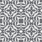 Grey and white seamless style pattern Royalty Free Stock Images