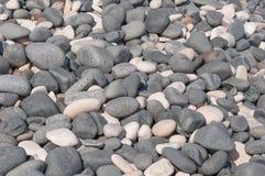 Grey and White stones Stock Photo