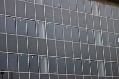 Grey window glass texture Stock Photography