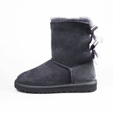 Grey winter shoes royalty free stock images