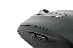 Grey wireless mouse on isolated background Royalty Free Stock Image