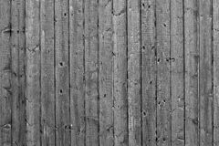 Grey Wood Fence Background Pattern Fotografering för Bildbyråer