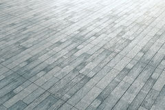 Grey wood flooring Royalty Free Stock Photo