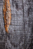 Grey wood surface with deffects Royalty Free Stock Photo