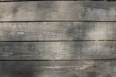 Grey wooden background, texture for designers stock image