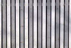 Grey wooden fence Stock Image