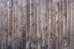 Grey wooden house wall Stock Photography