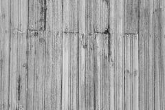 Grey wooden plank with nails Stock Images