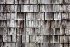 Grey Wooden Square Pattern Backgroud Foto de archivo libre de regalías